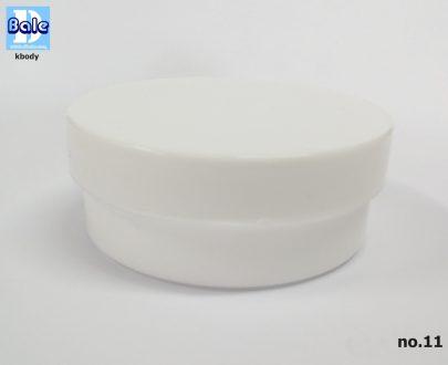 กระปุกครีมพลาสติก ไม่มีแผ่นรองด้านใน kbody-50g