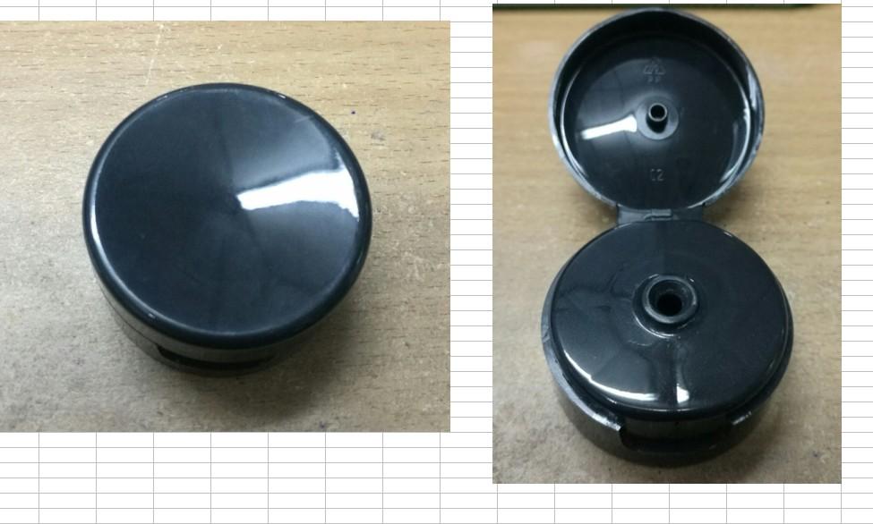 ฝาflip tube ดำ 4.7 cm ใหญ่ ฝาป๊อกแป๊กดำ ศก. 4.7 ซม. สำหรับหลอดอ้วนfr0003-fr0004fr0005 100/150/200/250ml