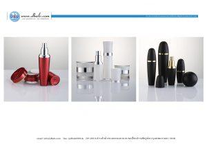 rmsy-xhe สินค้าพรีออเดอร์บรรจุภัณฑ์เครื่องสำอางค์ กระปุกครีม ขวดปั้มครีม หลอดครีม