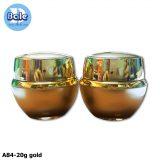 A84-20g gold กระปุกครีมอะคริลิค ขนาด 20 กรัม